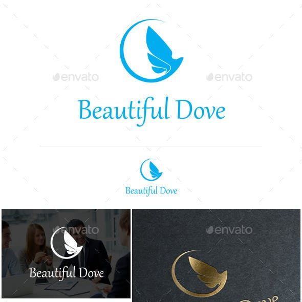 Dove Logo Template