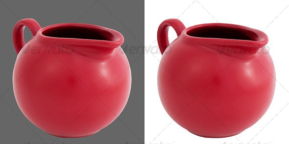 Ceramic Cream Jug - Home & Office Isolated Objects