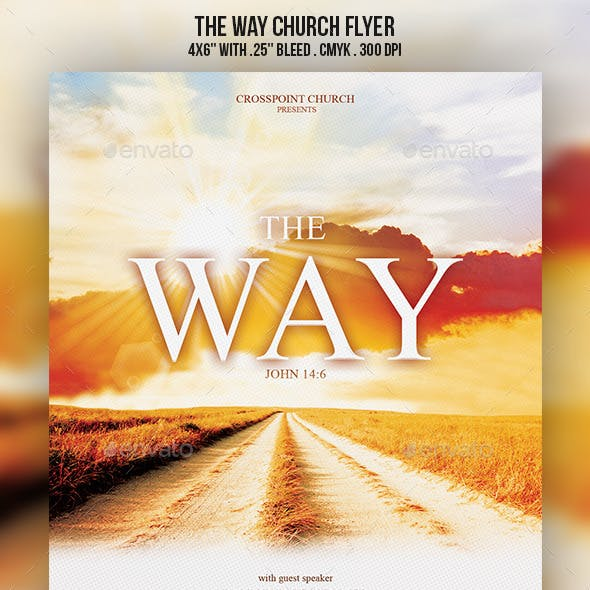 The Way Church Flyer
