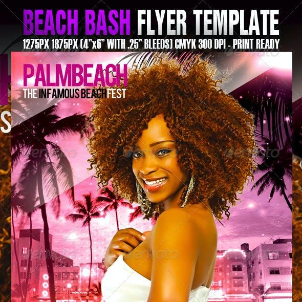 The Beach Bash Template