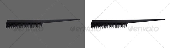 Comb - Home & Office Isolated Objects