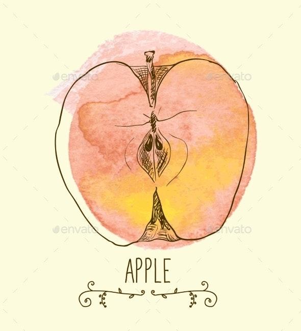 Fresh Useful Eco-Friendly Apple - Seasons Nature