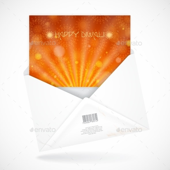 Postal Envelopes With Greeting Card - Religion Conceptual