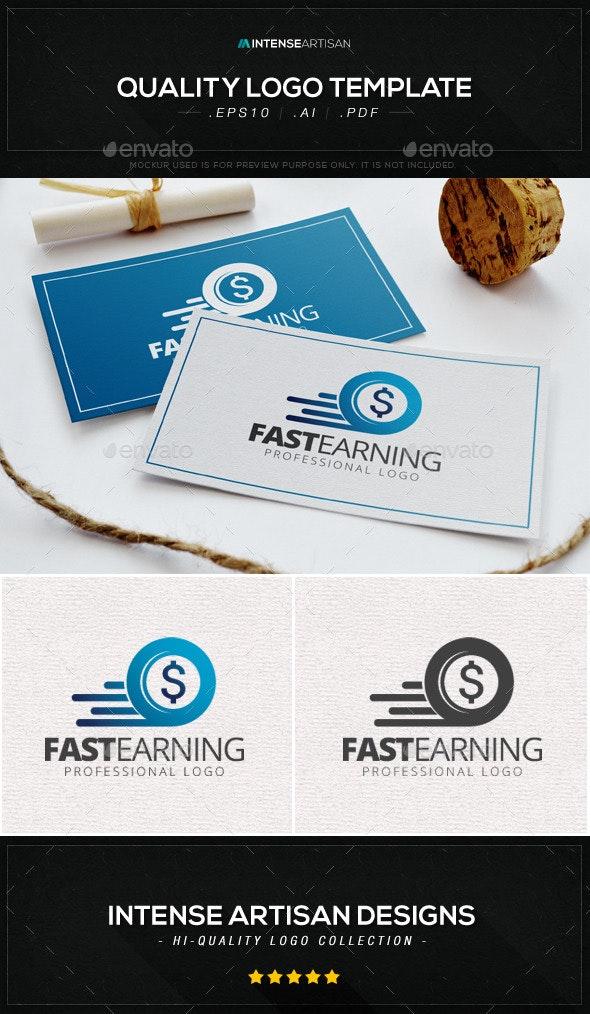 Fast Earning Logo Template - Symbols Logo Templates