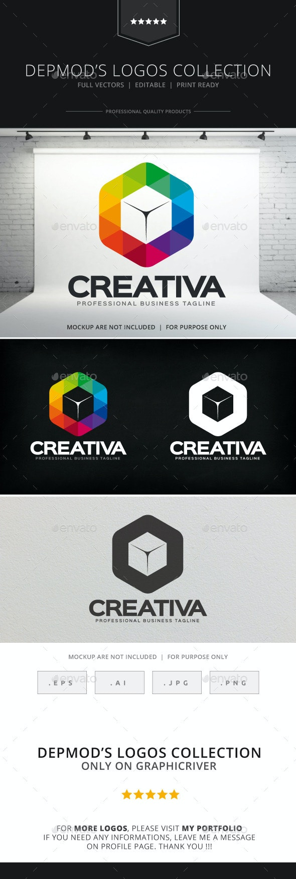 Creativa Logo - Abstract Logo Templates