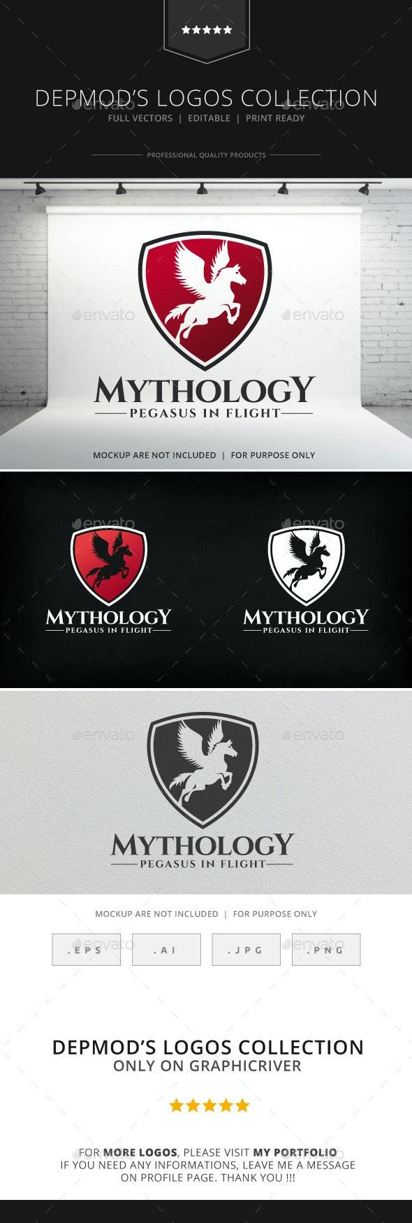 Mythology Logo - Crests Logo Templates