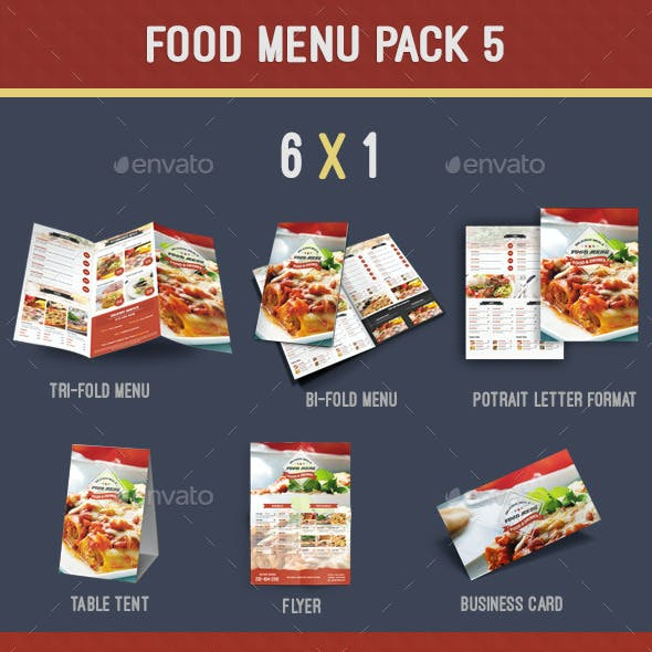 Food Menu Pack 5