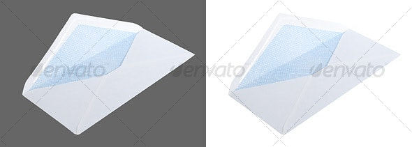 Open Envelope - Home & Office Isolated Objects