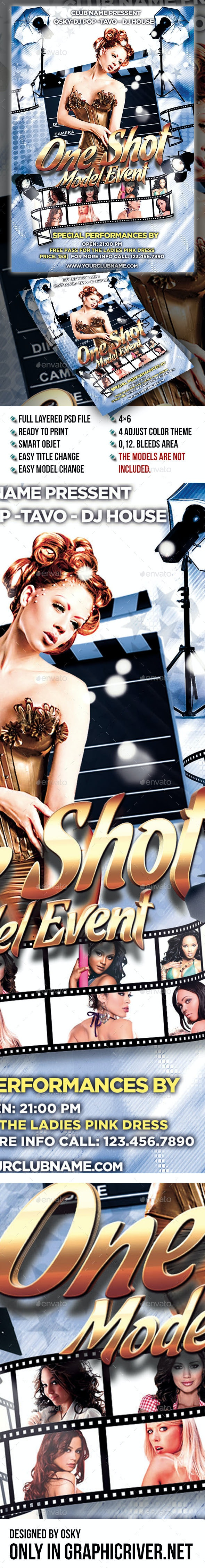One Shot Model Event - Clubs & Parties Events
