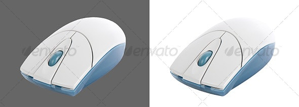 Wireless Mouse - Technology Isolated Objects