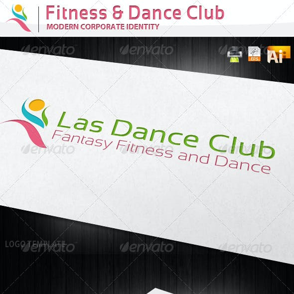 Fitness and Dance Club Corporate Identity