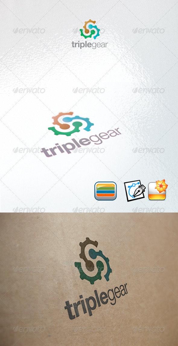 Triplegear - Objects Logo Templates