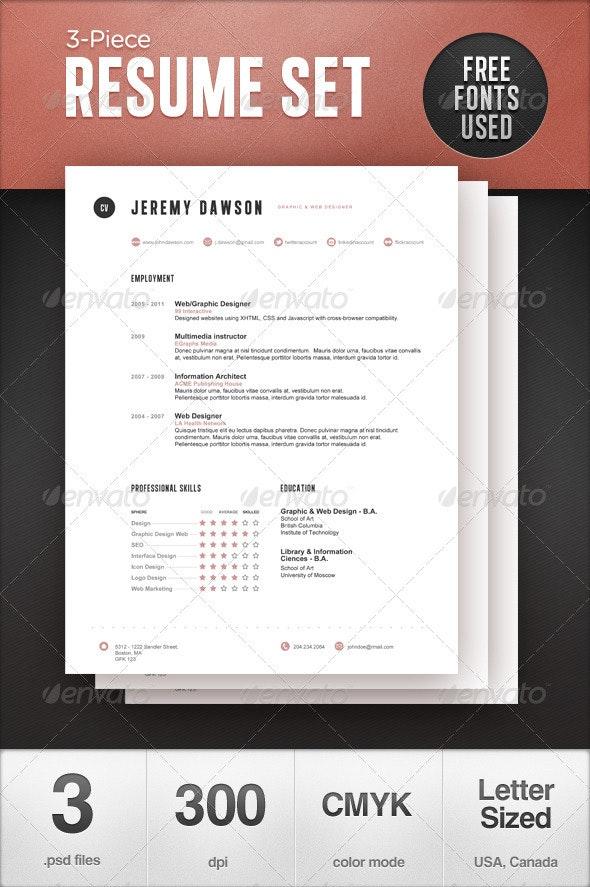 Stylish Resume - Resumes Stationery