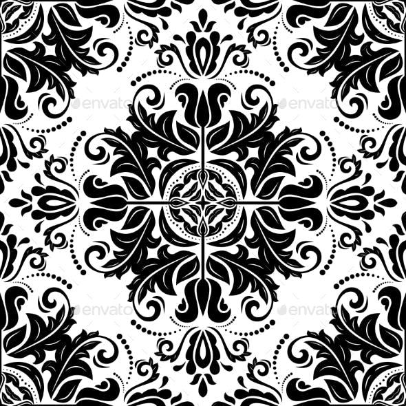 Orient Ornamental Round Lace