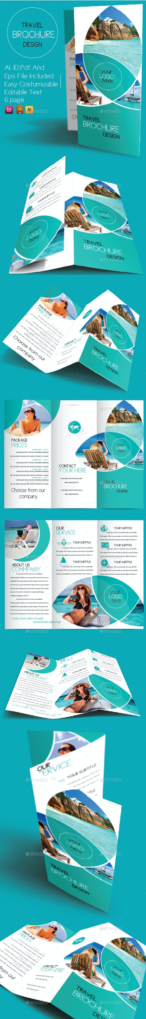 Travel Brcohure Design - Informational Brochures
