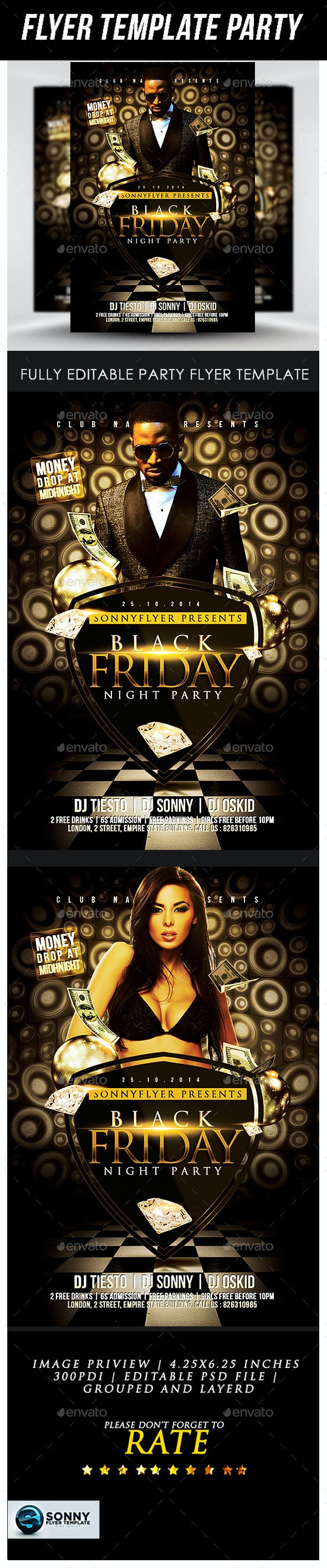 The Black Friday - Clubs & Parties Events