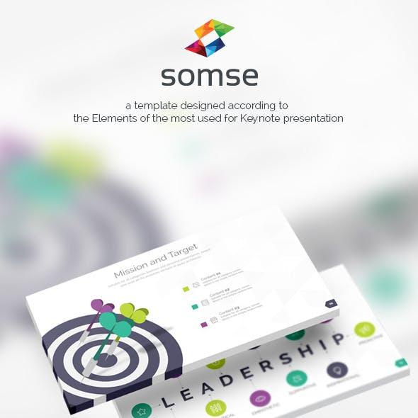 Somse - All in One Keynote Template