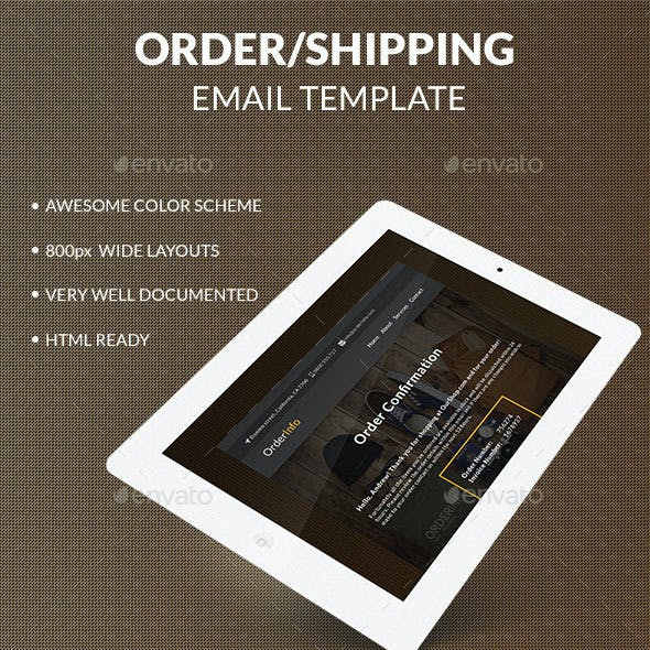 OrderInfo - Order / Shipping Mail Template