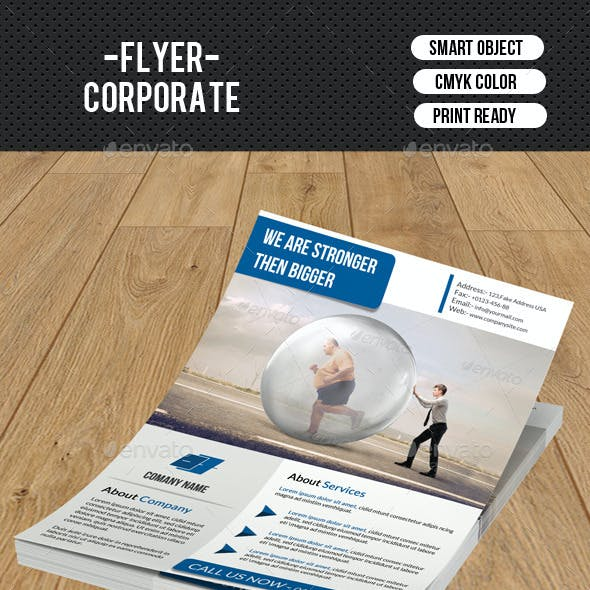 Corporate Flyer Template-V131