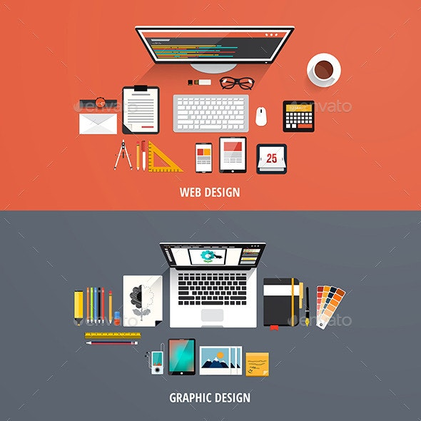 Design Concepts Icons - Web Technology