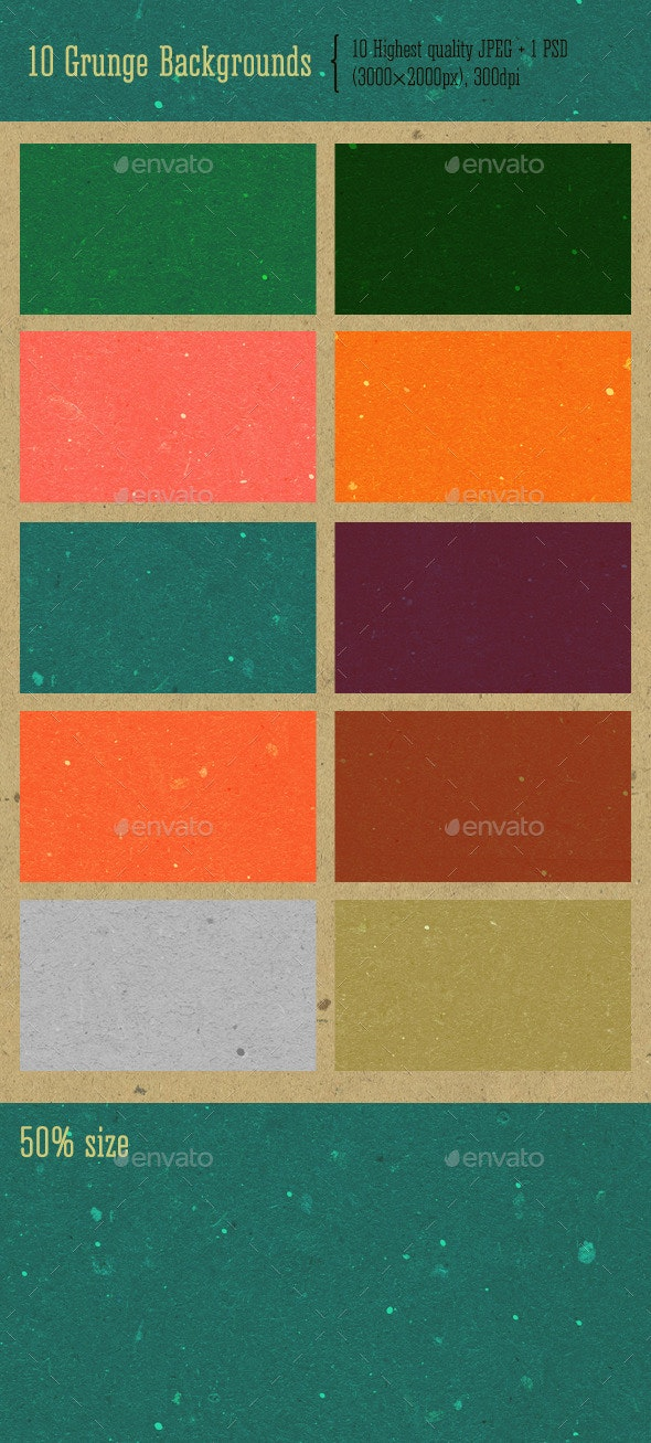 Grunge Backgrounds - Paper Textures