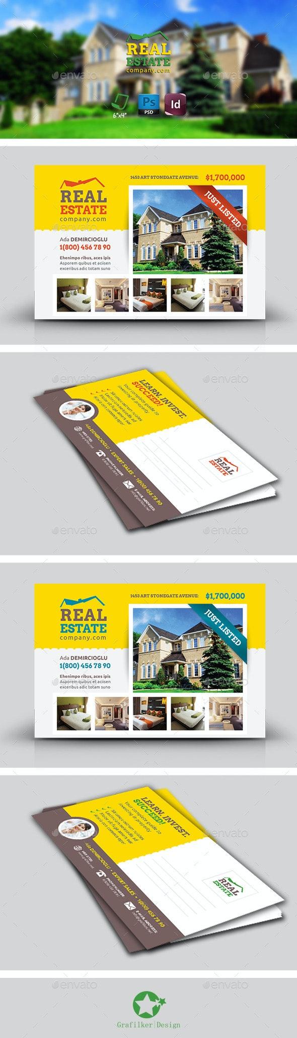 Real Estate Postcard Templates - Corporate Flyers