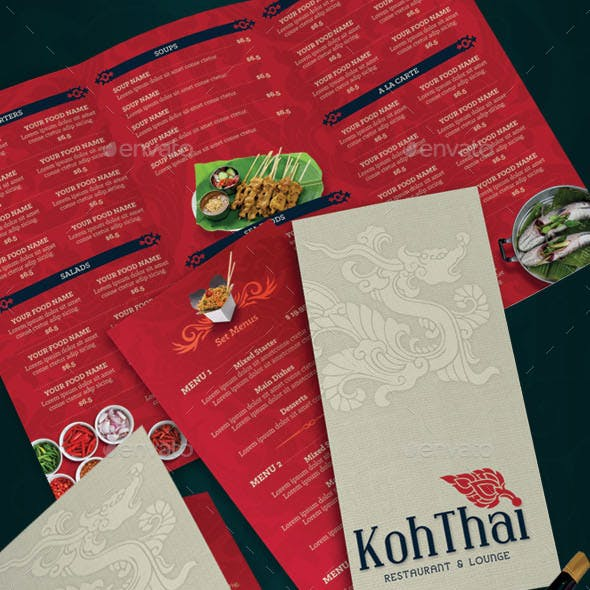 Thai Restaurant Menu