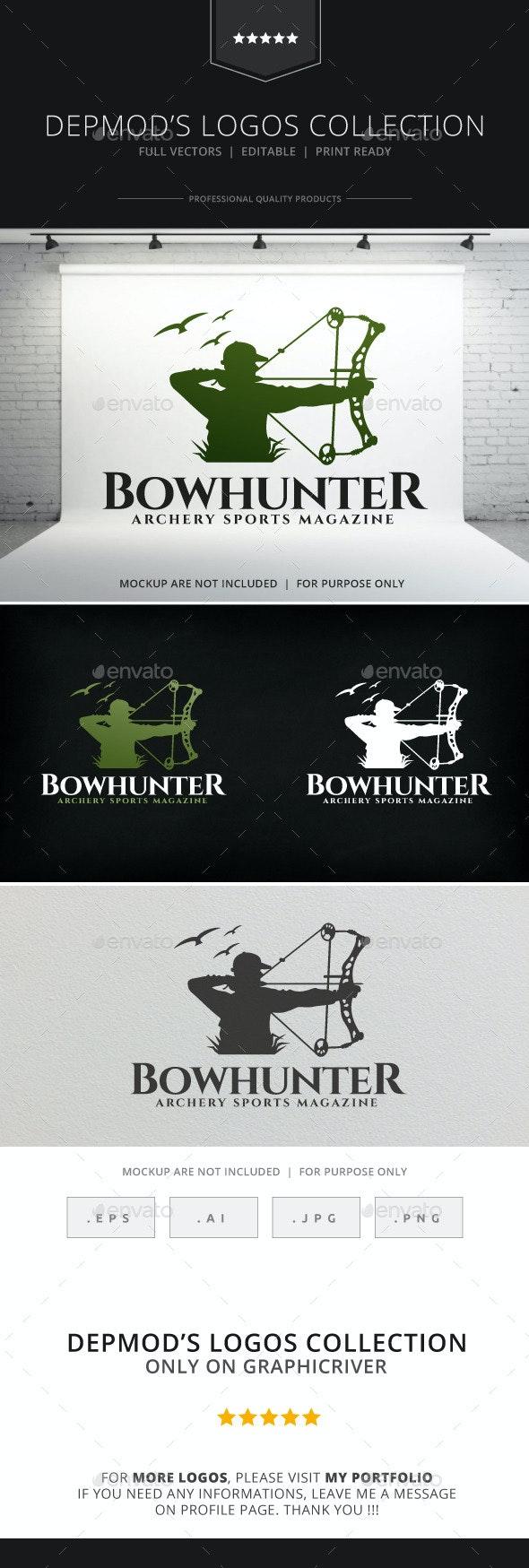 Bow Hunter Logo - Humans Logo Templates