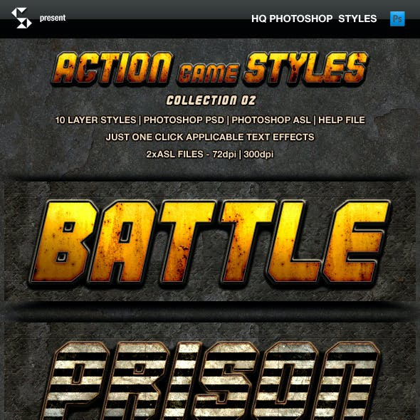Action Game Styles - Collection 2