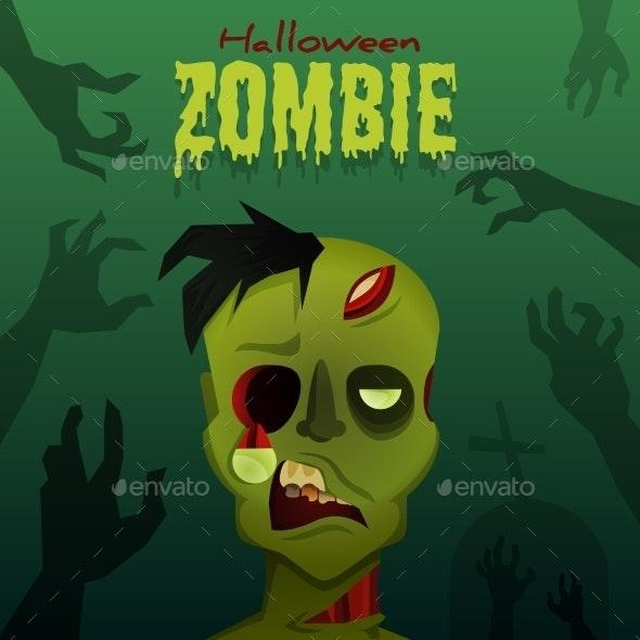 Halloween Zombie - Halloween Seasons/Holidays