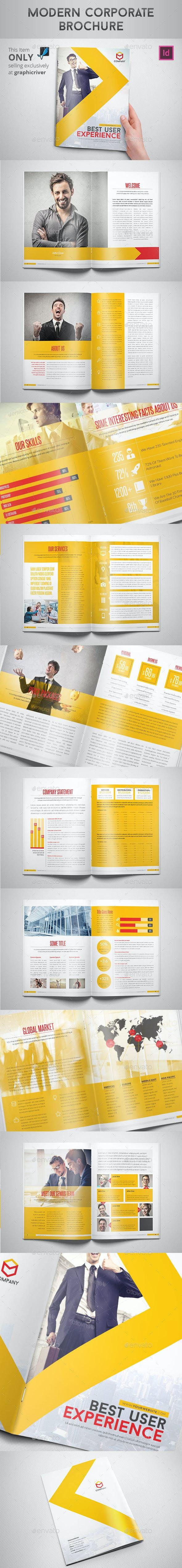 Modern Corporate Brochure - Corporate Brochures