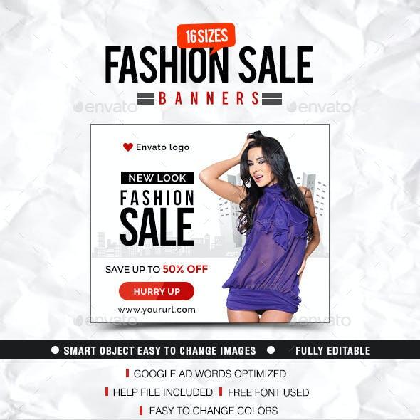 Fashion & Clothing Banner Design