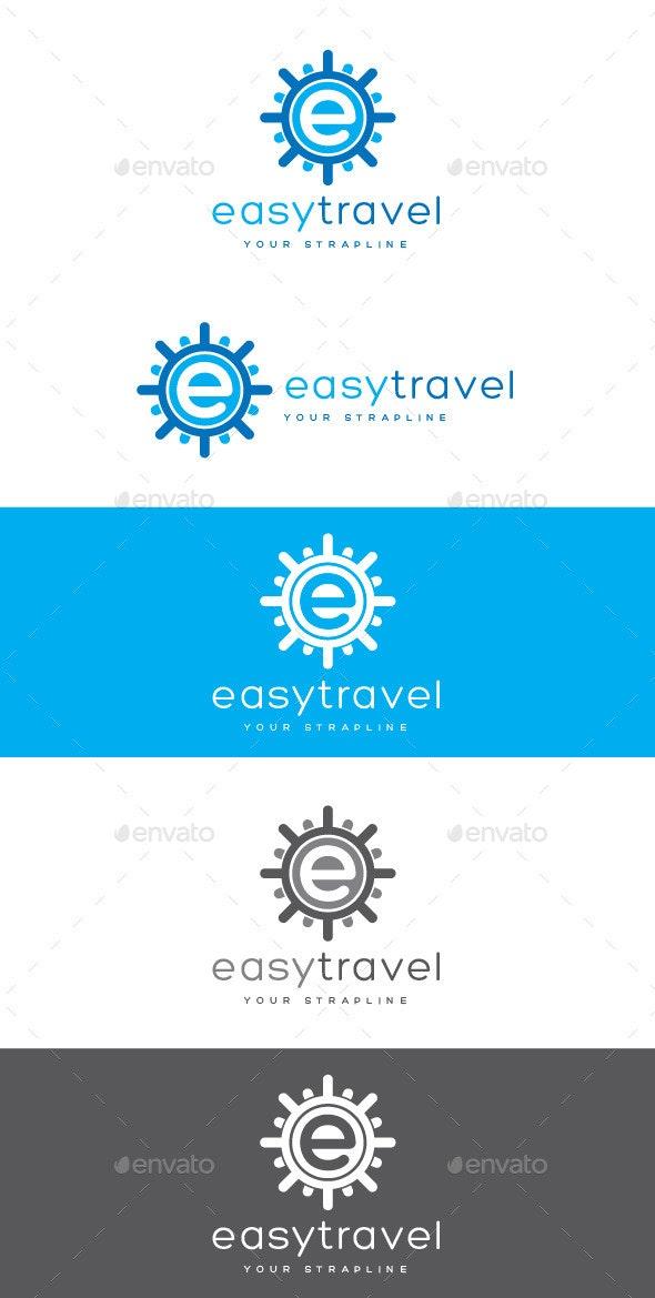 Easy Travel Letter E Logo - Letters Logo Templates