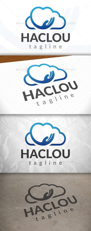 Hand Cloud Logo - Symbols Logo Templates