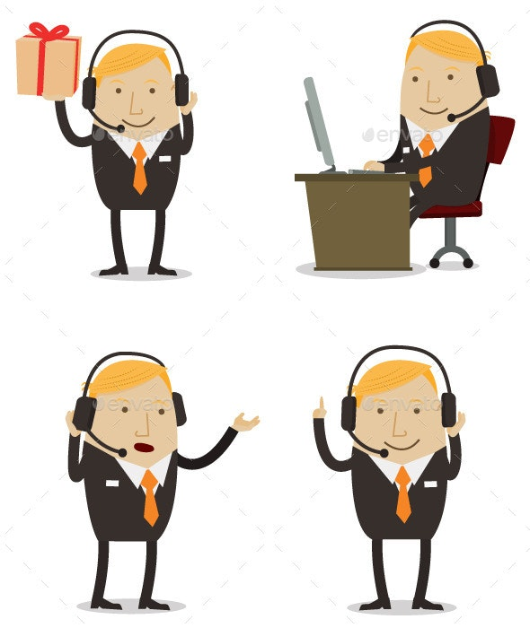 Male Customer Service - Concepts Business