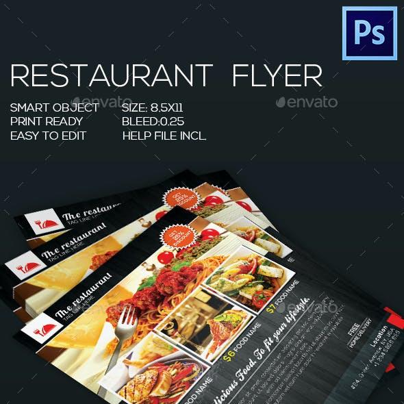 Restaurant Food Flyer V-2