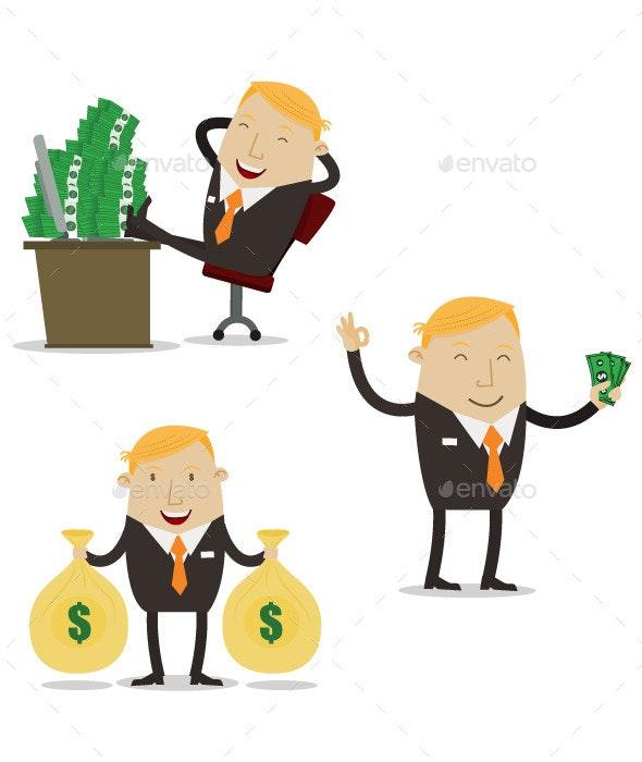 Profitable Businessman  - Concepts Business
