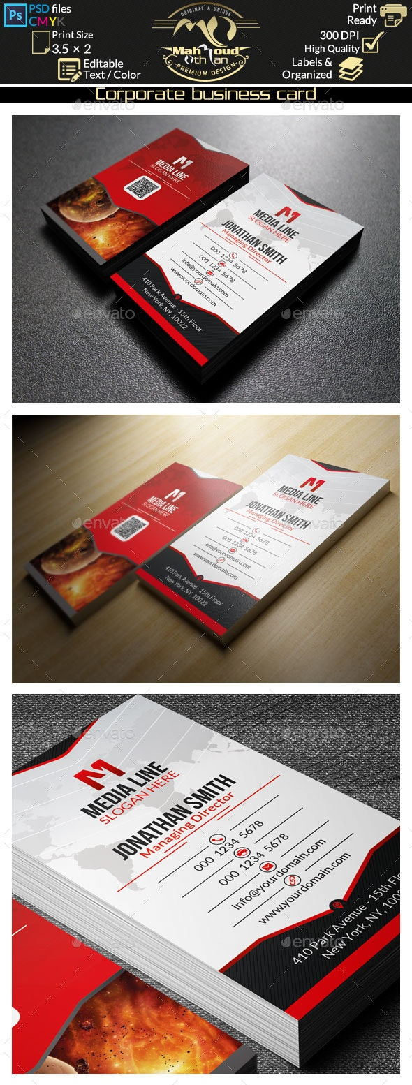 Creative Red Business Card 48 - Creative Business Cards