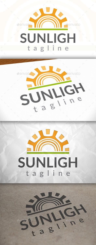 Sun Simple Logo - Nature Logo Templates
