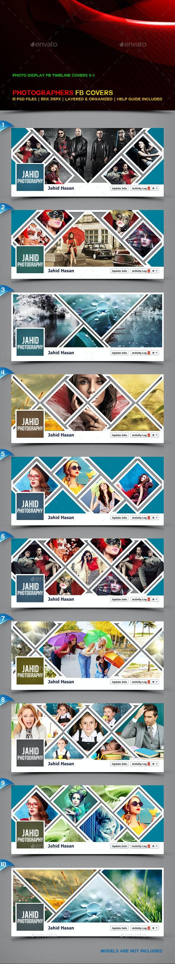 Photo Display FB Timeline Covers V9 - Facebook Timeline Covers Social Media