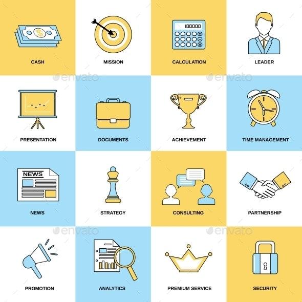 Marketing Icons Set - Business Icons