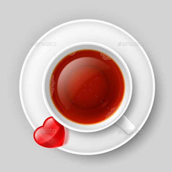 Romantic Tea Drinking - Patterns Decorative