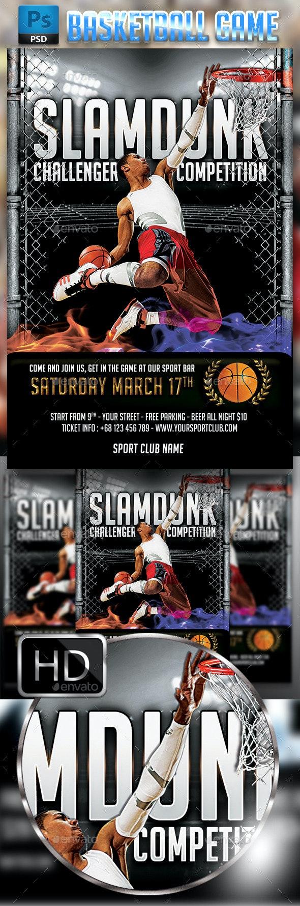 Slamdunk / BasketBall #2 - Sports Events