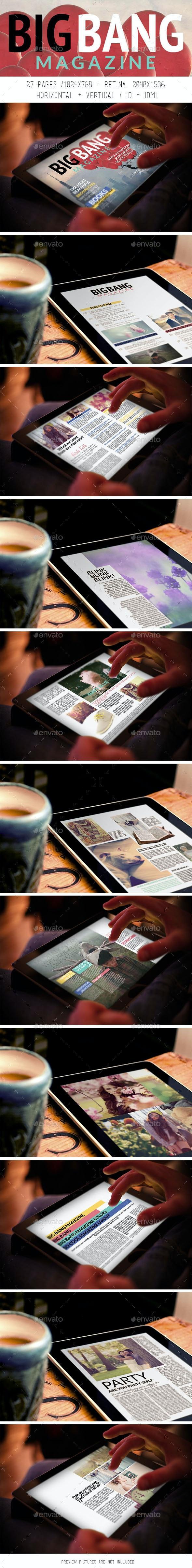 iPad & Tablet Big Bang Magazine - Digital Magazines ePublishing