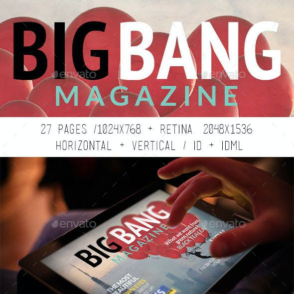 iPad & Tablet Big Bang Magazine