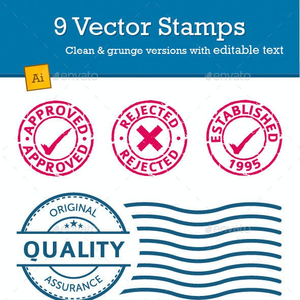 Vector Stamp Pack