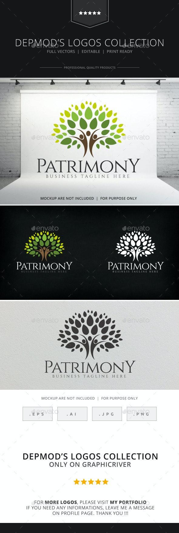 Patrimony Logo - Humans Logo Templates