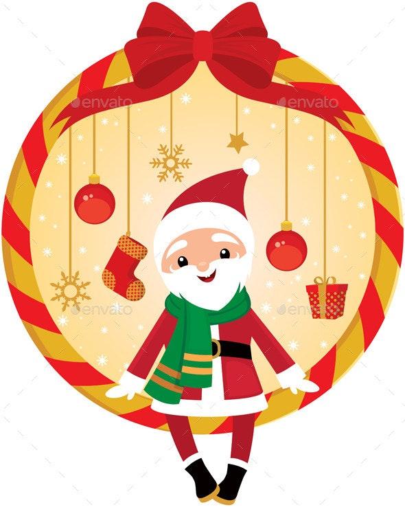Cute Santa - Christmas Seasons/Holidays