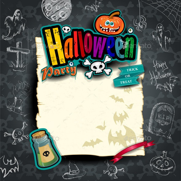 Scroll of Halloween - Halloween Seasons/Holidays