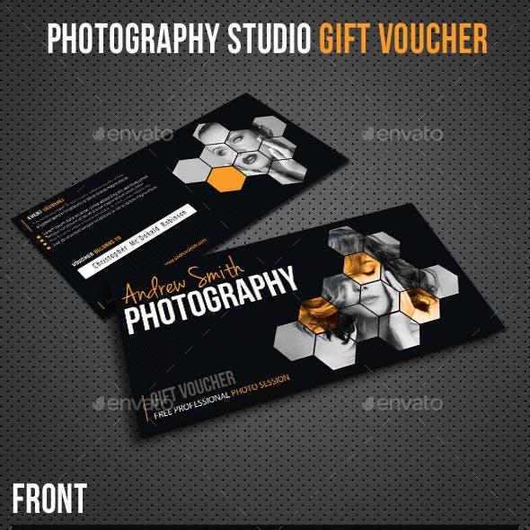 Photography Studio Gift Voucher
